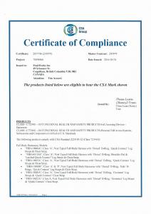 CSA证书01